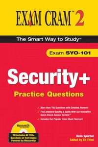 Security+ Practice Questions Exam Cram 2 (Exam SYO-101) (Paperback)-cover