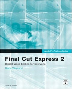 Apple Pro Training Series : Final Cut Express 2 (Paperback)-cover