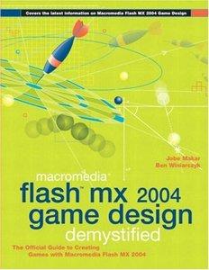 Macromedia Flash MX 2004 Game Design Demystified-cover