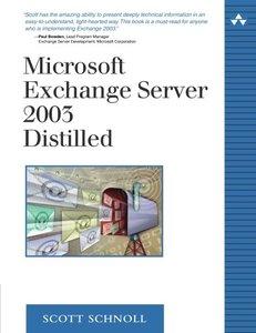 Microsoft Exchange Server 2003 Distilled (Paperback)-cover