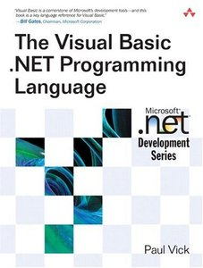 The Visual Basic .NET Programming Language (Paperback)-cover