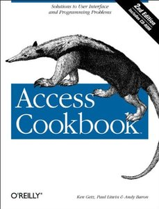 Access Cookbook, 2/e (Paperback)-cover