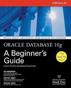 Oracle Database 10g: A Beginner's Guide (Paperback)-cover