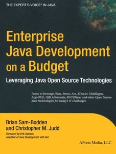 Enterprise Java Development on a Budget: Leveraging Java Open Source Technologie (Paperback)-cover