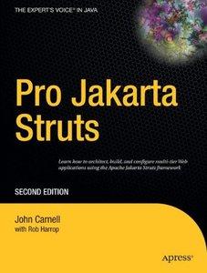 Pro Jakarta Struts, 2/e (Paperback)-cover