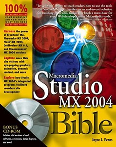 Macromedia Studio MX 2004 Bible (Paperack)-cover