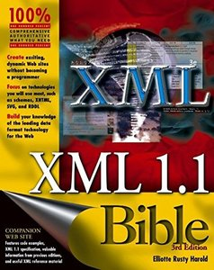 XML 1.1 Bible, 3/e (Paperback)-cover