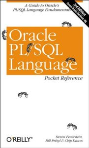 Oracle PL/SQL Language Pocket Reference, 3/e-cover