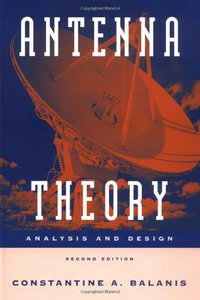 Antenna Theory: Analysis and Design, 2/e-cover