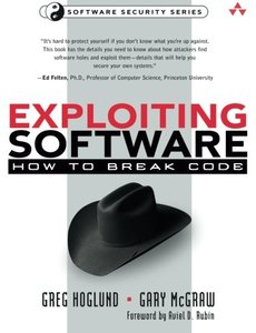 Exploiting Software : How to Break Code (Paperback)-cover