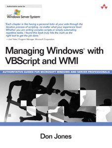 Managing Windows with VBScript and WMI (Paperback)-cover