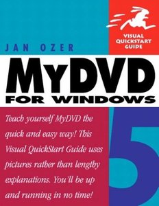 MyDVD 5 for Windows : Visual QuickStart Guide-cover