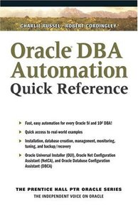 Oracle DBA Automation Quick Reference-cover