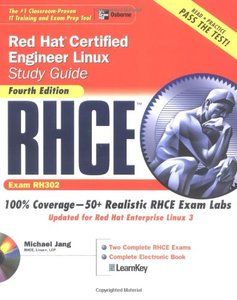 RHCE Red Hat Certified Engineer Linux Study Guide (Exam RHXX), 4/e-cover
