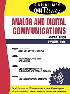 Schaum's Outline of Theory and Problems of Analog and Digital Communications, 2/e (Paperback)-cover