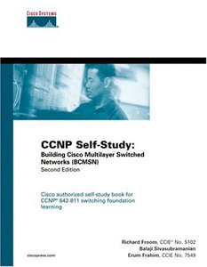 CCNP Self-Study : Building Cisco Multilayer Switched Networks (BCMSN), 2/e-cover