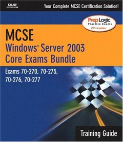 MCSE Windows Server 2003 Core Training Guide (Exams 70-290, 70-291, 70-293, & 70-294)-cover