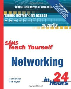 Sams Teach Yourself Networking in 24 Hours, 3/e-cover