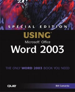 Special Edition Using Microsoft Word 2003-cover