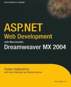 ASP.NET Web Development with Macromedia Dreamweaver MX 2004 (Paperback)-cover