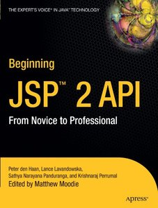Beginning JSP 2.0: From Novice to Professional, 2/e-cover