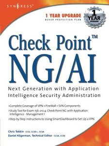 Check Point Next Generation with Application Intelligence Security-cover