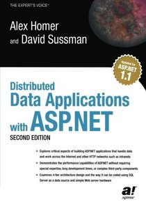 Distributed Data Applications with ASP.NET, 2/e-cover