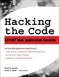 Hacking the Code: ASP.NET Web Application Security-cover