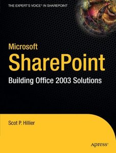 Microsoft SharePoint: Building Office 2003 Solutions-cover