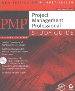 PMP: Project Management Professional Study Guide, 2/e (Paperback)-cover