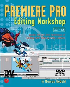 Premiere Pro Editing Workshop (Paperback)-cover