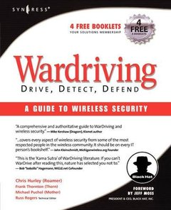 WarDriving: Drive, Detect, Defend, A Guide to Wireless Security-cover
