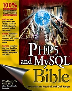 PHP5 and MySQL Bible-cover