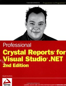Professional Crystal Reports for Visual Studio .NET, 2/e-cover