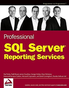 Professional SQL Server Reporting Services-cover
