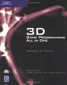 3D Game Programming All in One (Paperback)-cover