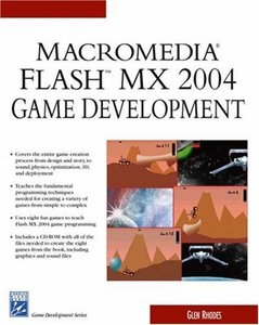 Macromedia Flash MX 2004 Game Development (Paperback)-cover