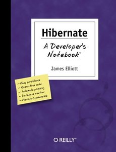 Hibernate: A Developer's Notebook-cover