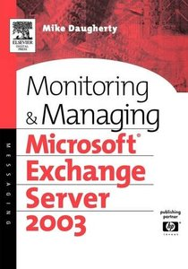 Monitoring and Managing Microsoft Exchange Server 2003-cover