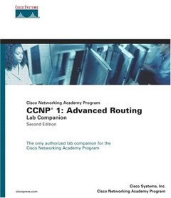 Cisco Networking Academy Program CCNP 1: Advanced Routing Lab Companion, 2/e (Paperback)-cover