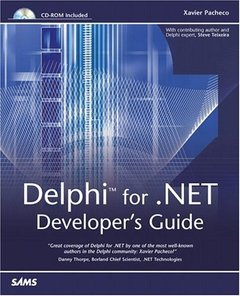 Delphi for .NET Developer's Guide-cover