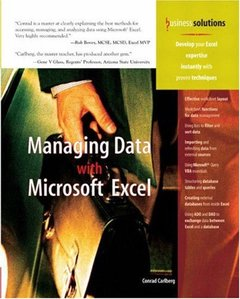 Managing Data With Microsoft Excel (Paperback)-cover