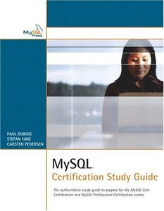 MySQL Certification Study Guide-cover