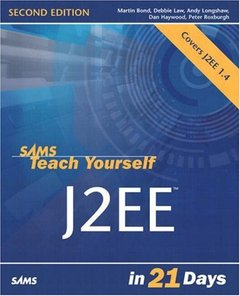 Sams Teach Yourself J2EE in 21 Days, 2/e-cover