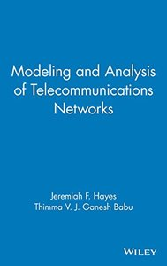 Modeling and Analysis of Telecommunications Networks-cover