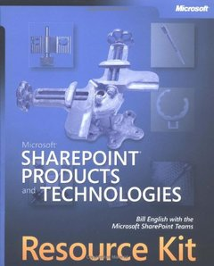 Microsoft SharePoint Products and Technologies Resource Kit-cover