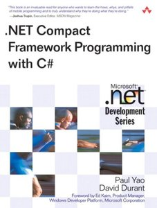 .Net Compact Framework Programming With C# (Paperback)-cover