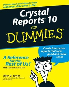 Crystal Reports 10 For Dummies-cover