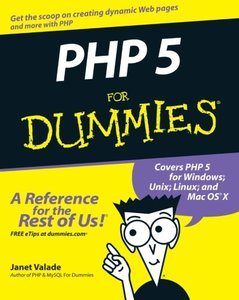 PHP 5 for Dummies (Paperback)-cover