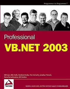 Professional VB.NET 2003, 3/e-cover